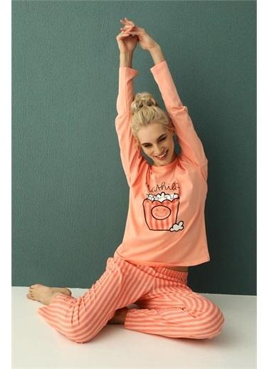 Nisanca Pijama Takım Sarı